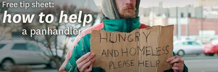 Free tip sheet: How to Help a Panhandler